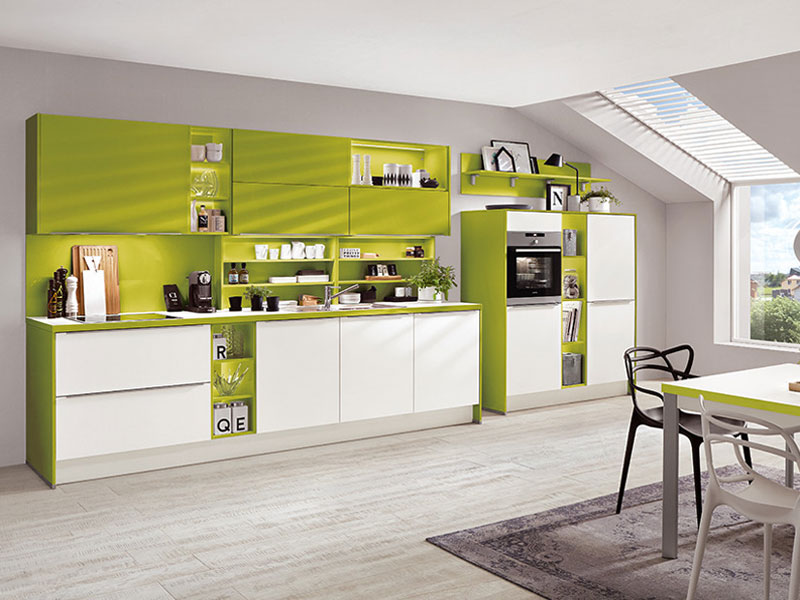 colour accents nobilia kitchen