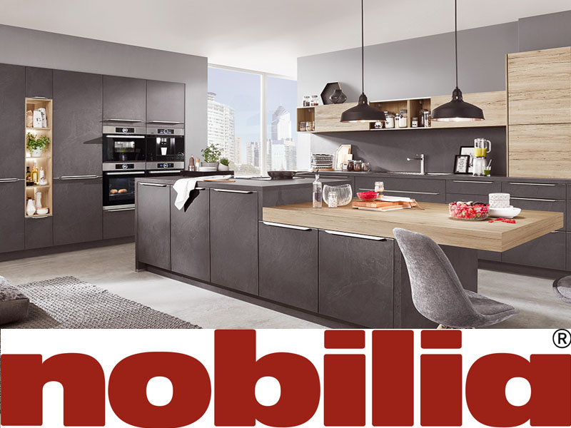 Choose a Nobilia kitchen. A trusted quality brand