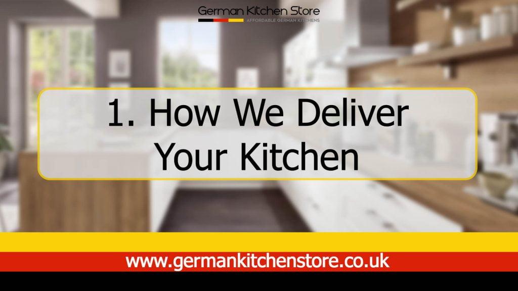 Kitchen installation video series