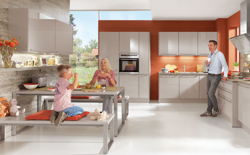 Create a sociable family space in your kitchen