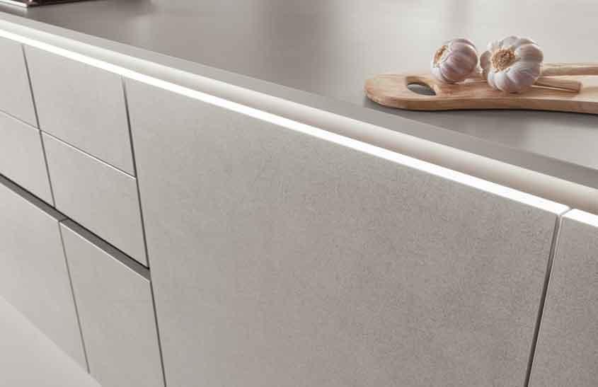Textured matt kitchens